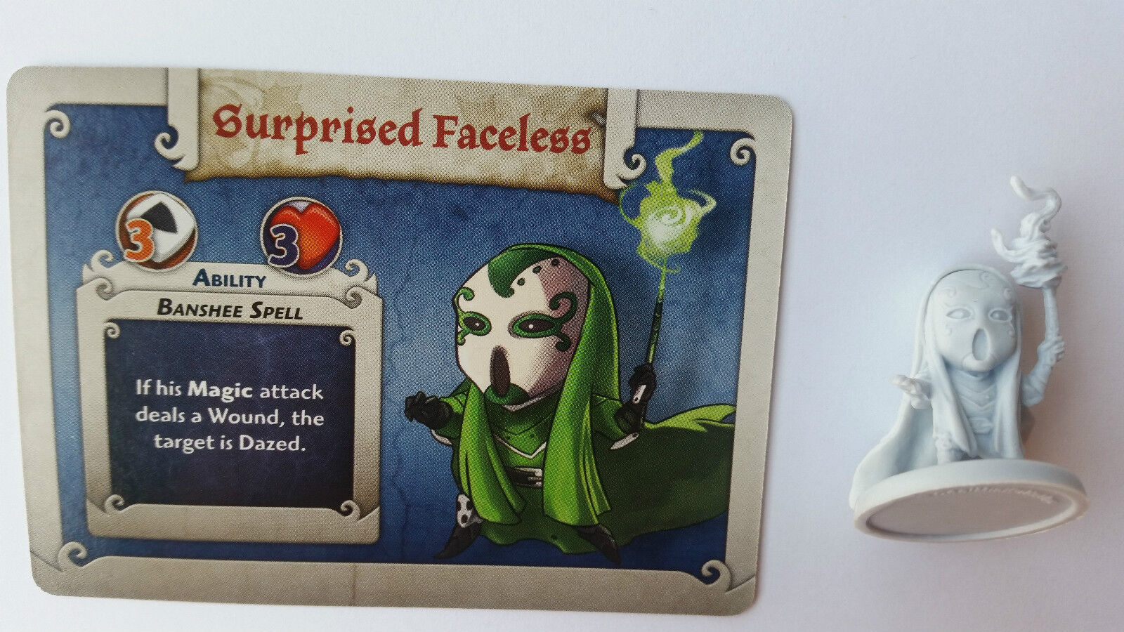 ARCADIA QUEST PROMO SURPRISED FACELESS, MUY DIFICIL DE CONSEGUIR