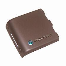 Genuine Original Battery Back Cover For Sony Ericsson K800 K800i Brown