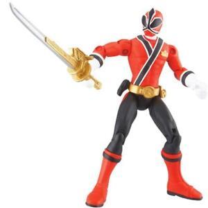 Bandai-Power-Rangers-Samurai-Ranger-Fire-Action-Figure-2011-NIP