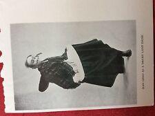m2v ephemera 1950s reprint picture dan leno as a drury lane dame