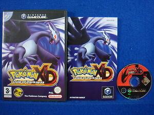 Gamecube pokemon xd gale of darkness game nintendo pal english wii ebay - Gamecube pokemon xd console ...
