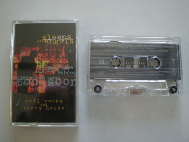 Neil Young & Crazy Horse Sleeps with Angels Germany Cassette 1994