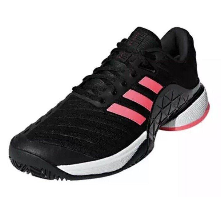 Adidas Adidas Adidas Barricade 2018 Boost para hombres talla 11 Calzado para Tenis Core Negro Rojo Flash AH2092 b3c1d7