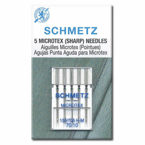 Microtex Schmetz Agujas de Coser