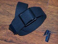Belt Canvas Army Military Fashion Sport USMC Black Belt Casual Unisex with P38