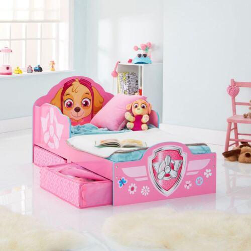 Disney Toddler lit avec rangement matelas-Voitures Peppa congelé et plus Minnie