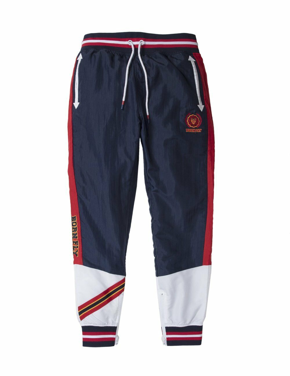 Born Fly Navy Hoya Nylon Pants