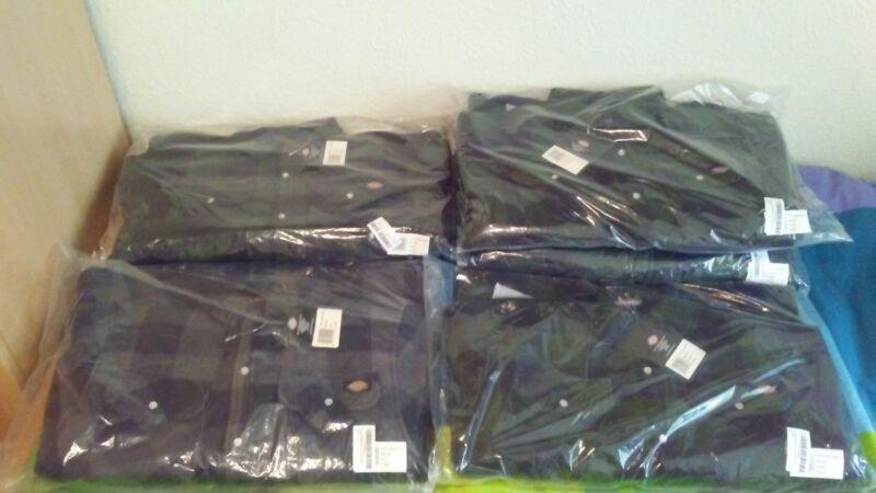 Camisas Térmicas Dickies Portland Sh5000, Camisa De Leñador/ Camisa De Trabajo/