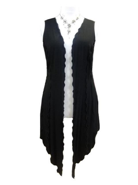 C101 Ultimate Lagenlook/Layering piece long waistcoat