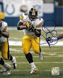 f619757ba Image is loading Pittsburgh-Steelers-Jerome-Bettis-Autographed-Signed-8x10- NFL-