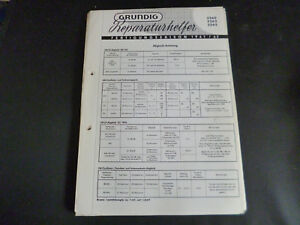 Original Service Manual Grundig 3260 3262 3265 Senility VerzöGern Anleitungen & Schaltbilder