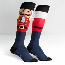 Sock It To Me Women's Knee High Socks - Nutcracker