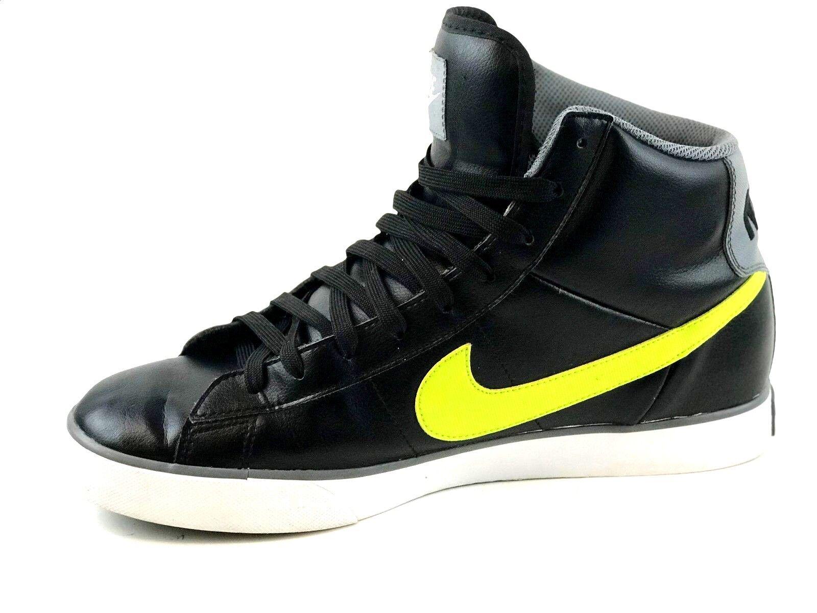 NIKE Men's Athletic Sneakers Black Size US.12 / EUR.46 /  UK.11