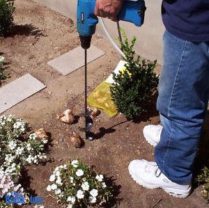 garden auger drill bit. Auger-Drill-Bit-Attachment-Yard-Hole-Digger-Garden- Garden Auger Drill Bit T