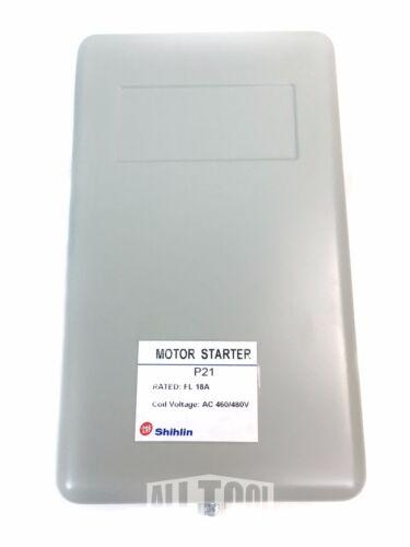 3-Phase Shihlin Magnetic Motor Starter 10HP MS-P21 18Amp 460V