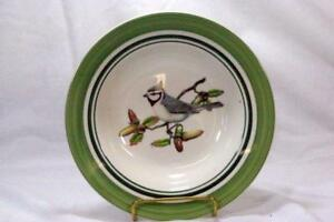 National Wildlife Federation FATHER CHRISTMAS 2 X serving bowls