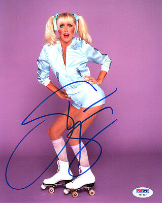 SUZANNE SOMERS SIGNED AUTOGRAPHED 8x10 PHOTO CHRISSY THREE'S COMPANY PSA/DNA