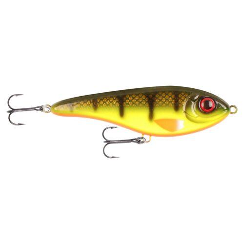 Buster Jerk ll shallow swim 12cm Hot Baitfish Strike Pro Jerkbait