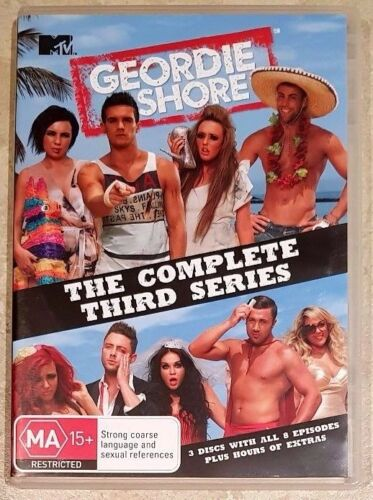 1 of 1 - Geordie Shore - Complete Third Series (3 Disc) DVD in GREAT condition (Region 4)