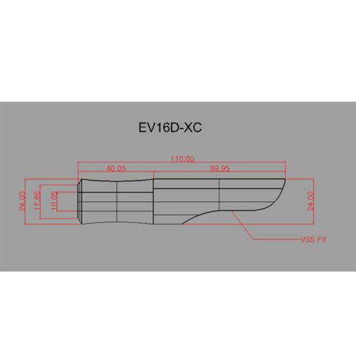 Rod building EV16D-XC Rodcraft EVA GRIP For VSS16 Reel Seat Grip
