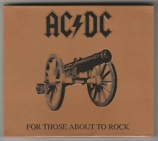 Ac/dc for Those About to Rock We Salute 2003 Reissue Australia Albert Picture CD