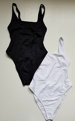 New Ex Branded Sculpt Me Control High Neck Mesh Supportive Swimsuit Black SE27