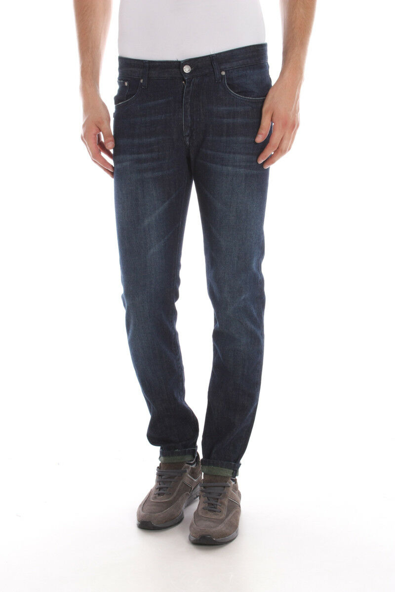Jeans Daniele Alessandrini Jeans Cotone men Denim PJ5393L460 1111