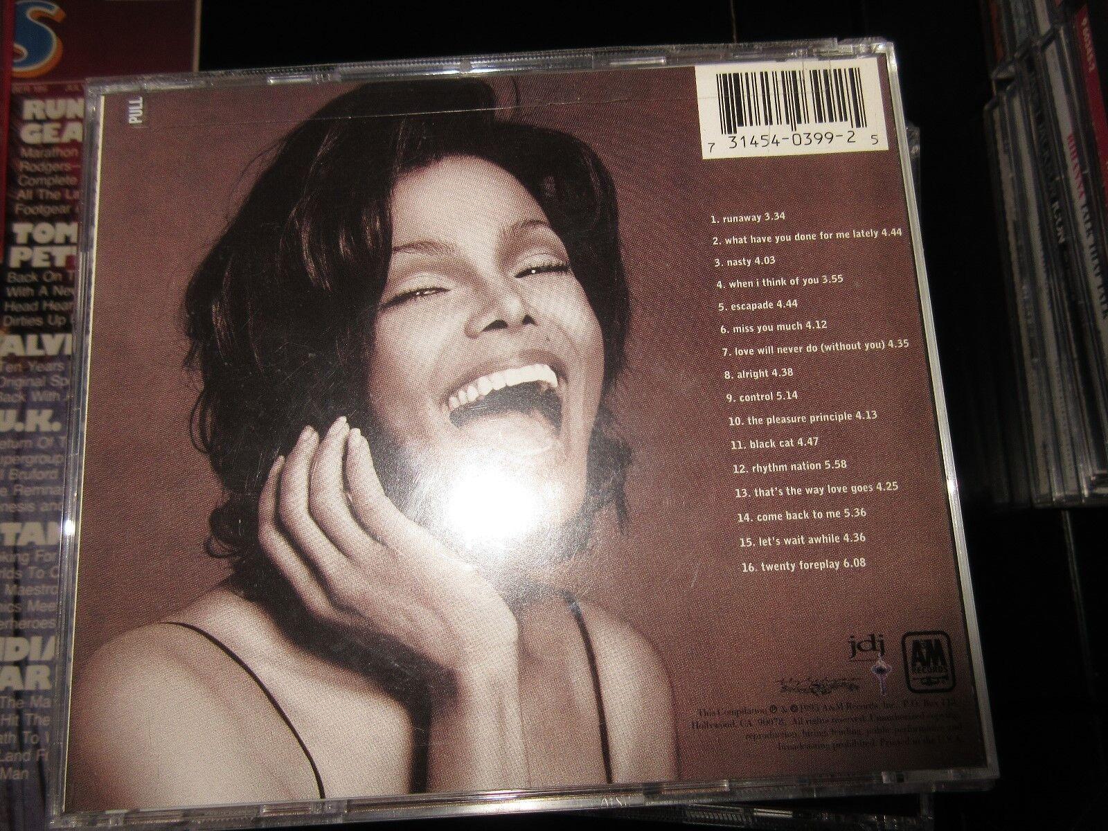 Janet Jackson , 1986/1996 , Design Of A Decade , CD 291