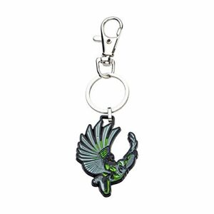 One Size Silver//Green Marvel Comics Mens Vulture Base Metal Key Chain