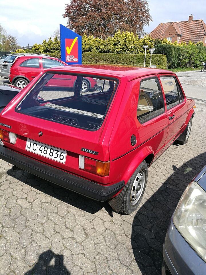 VW Golf I, Benzin, 1980