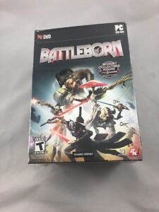 Details about Battleborn With GameStop Exclusive Figure DVD PC Factory  Sealed