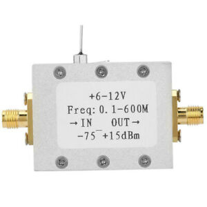 Details about AD8307 1MHz to 600MHz Wideband RF Detector RF Power Meter  Strength Meter