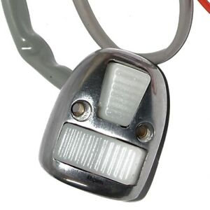 Lambretta-Sx-Gp-Horn-Light-Switch-Alloy-Polished-With-White-Buttons