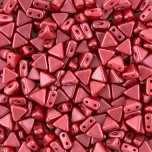 2 agujero Triángulo granos Kheops par Puca ® Perlas De Vidrio