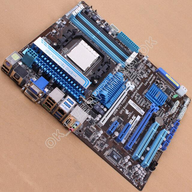 ASUS M4A89GTD PRO/USB3, Socket AM3, AMD Motherboard 890GX/SB850 Express ATX DDR3