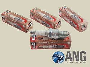 Austin-Healey-100-4-bn1-bn2-039-53-039-56-Champion-N9yc-Nucleo-De-Cobre-De-Bujias-X-4
