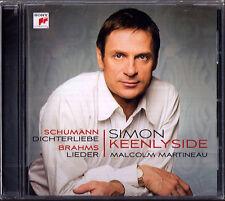 Simon KEENLYSIDE: SCHUMANN Dichterliebe BRAHMS 16 Lieder CD Malcolm MARTINEAU