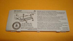 Original Sharp 1500mah Oem Pv Bl11 Battery For T Mobile Sidekick 3