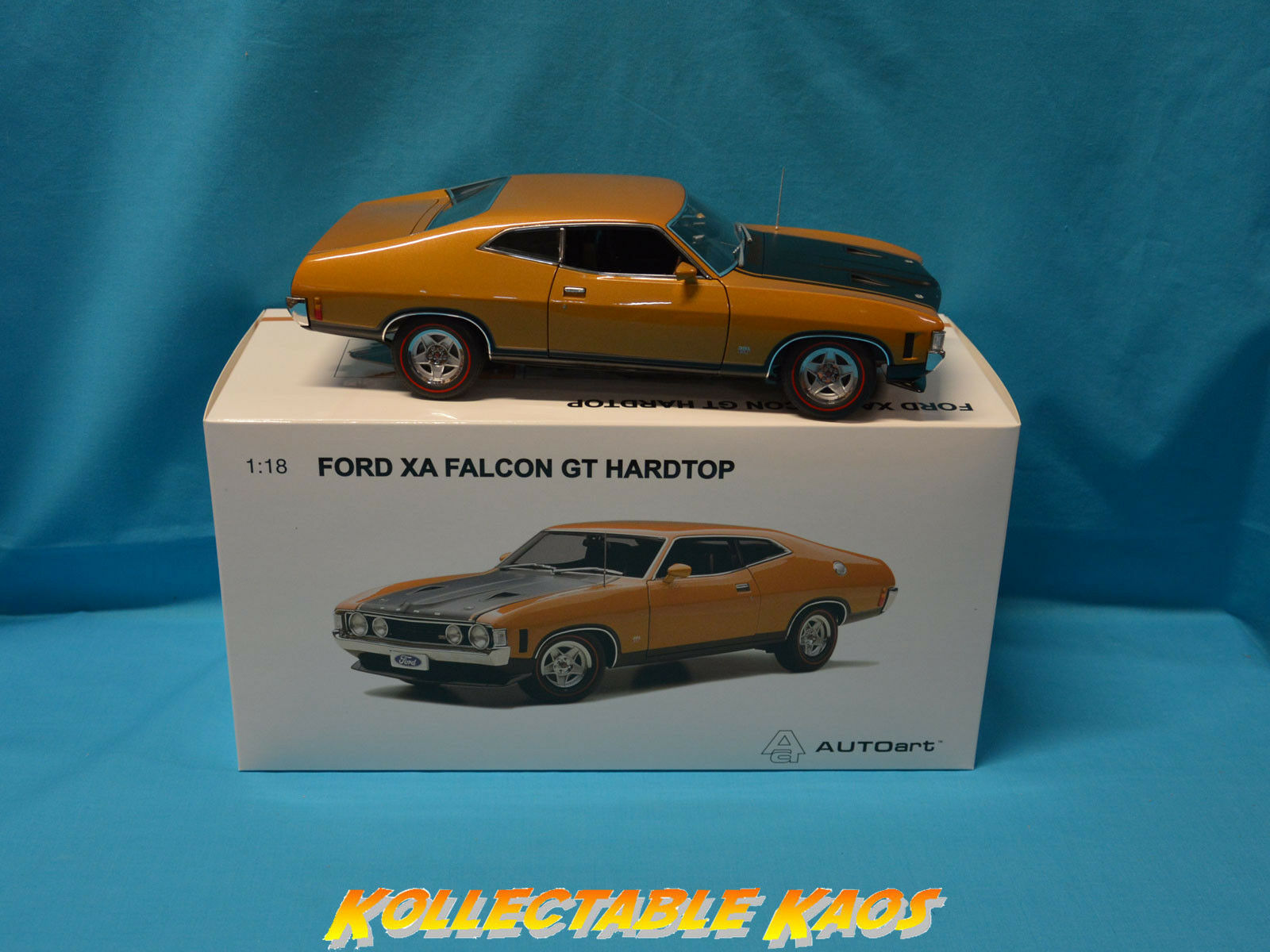 1 18 Biante - 1 18 Ford XA Falcon GT Hard Top - Summer or