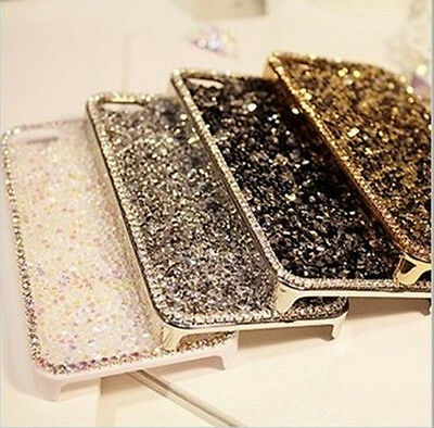 Luxury Bling Diamond Metal Hard Back Case Cover for Apple iPhone 5 6 6s 6Plus