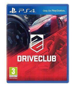 DRIVECLUB-PS4-Drive-Club-PS4-ottime-condizioni-1st-Class-consegna-super-veloce