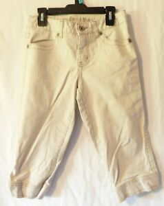 Limited Too Girls Khaki Capris Size 12