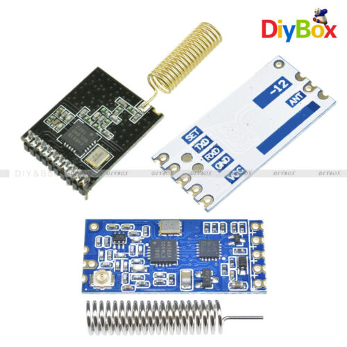 SI4463 HC-12 433Mhz//868MHZ Wireless Serial Port Module 1000m Replace Bluetooth