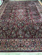 "10'2"" x 14'3"" Karastan Persian Sarouk Design Oriental Rug - Floral - Full Pile"
