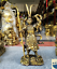 12.8inch Collect Chinese old bronze Handsome  Sun Wukong character statue