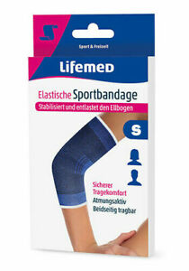 Lifemed-Elastic-Sportbandage-Blue-034-Elbow-Pad-034-S-96-x-1-Piece