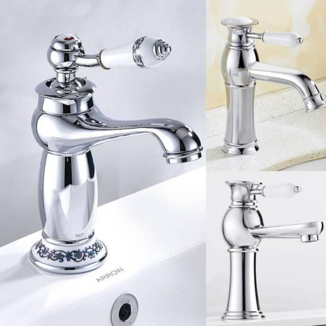Retro Vintage Einhebel Wasserhahn Waschbecken Mischbatterie Armatur Küche  bad