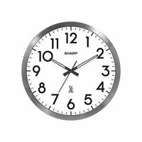 Sharp 14 Atomic Wall Clock Free Shipping