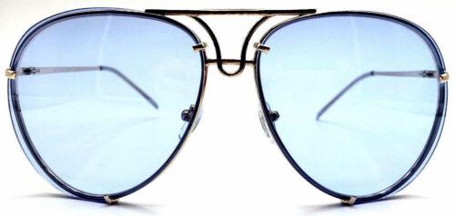 Aviator Super Poshe Gradient Twirl Metal Design  Women Sunglasses PINK SHADZ