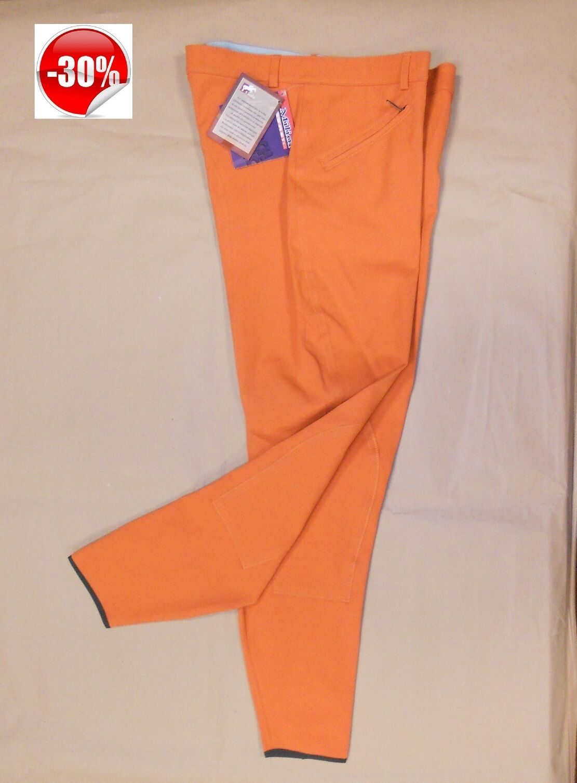 KOALA Pantalone pantaloni equitazione NIKI donna arancione Made in